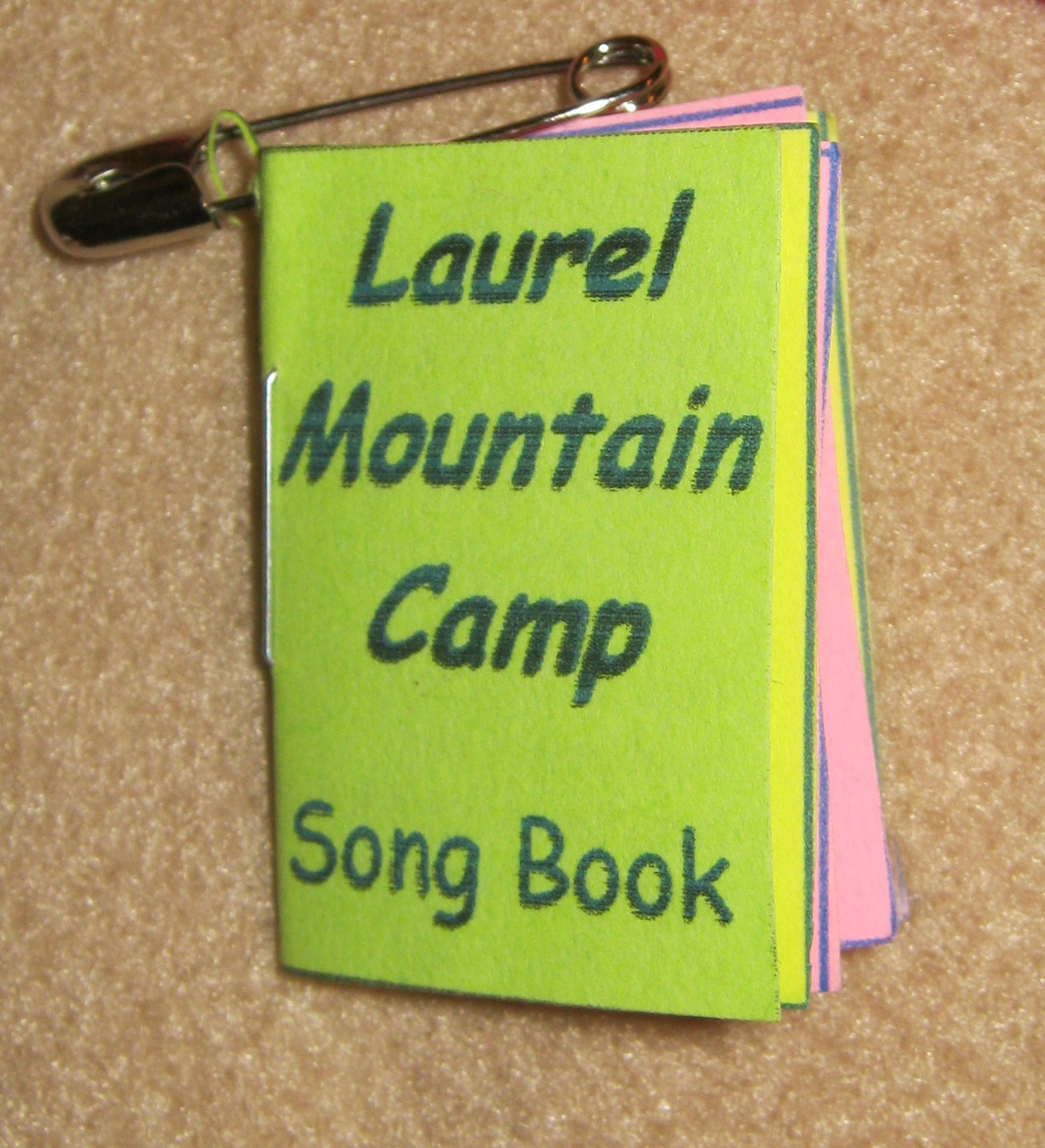 Camp Song Book Swap