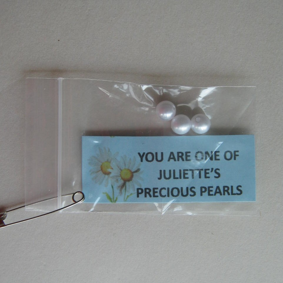 Juliette's pearls