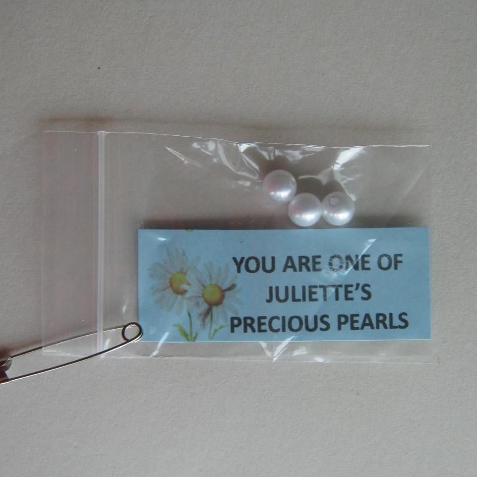 Juliette's pearls